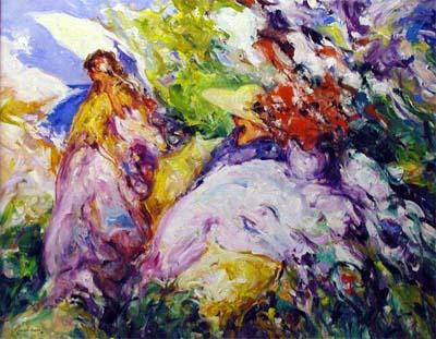 Dia Esteval by  Pineda  Bueno - Masterpiece Online