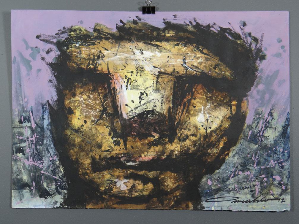 Untitled Face (purple)