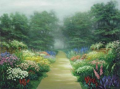 Garden Path by  Egidio Antonaccio  - Masterpiece Online