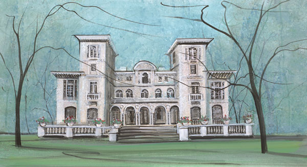 DP-PALACE ON THE MOUN... by  P. Buckley Moss  - Masterpiece Online