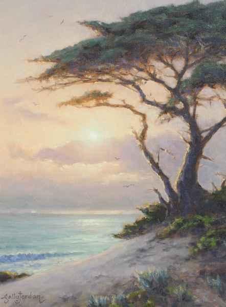 Sunset Mist by  Sally  Jordan - Masterpiece Online