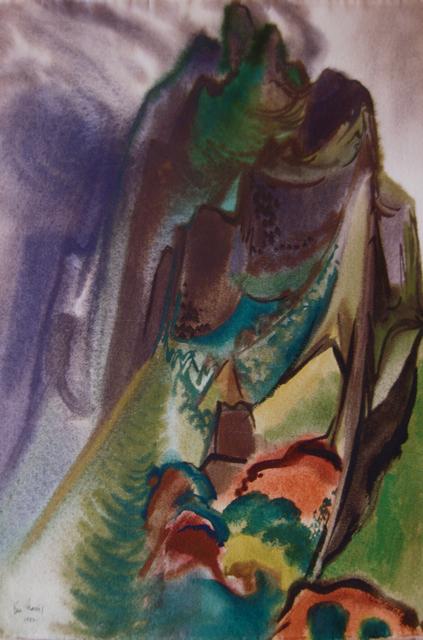 Mountain (Haiku Valle... by  Robert Benjamin Norris (1910-2006) - Masterpiece Online