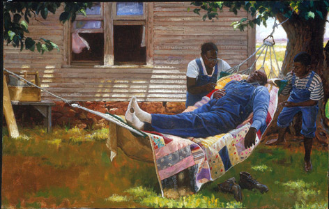 And The Livin Is Easy  by  Mike Wimmer