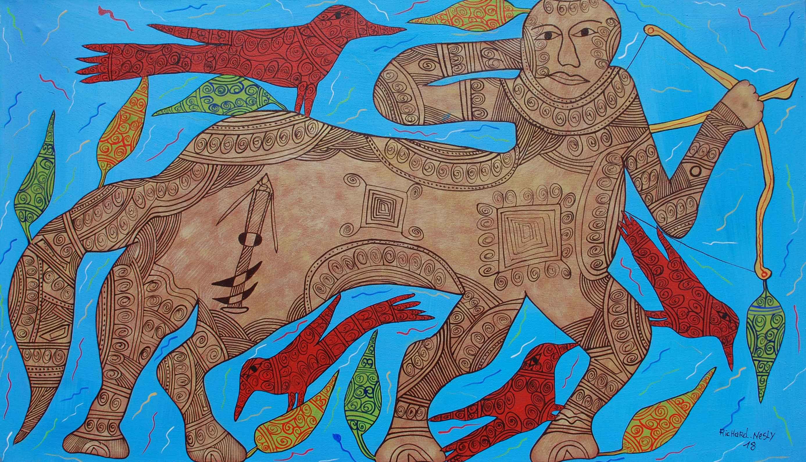 Sagittarius by  Richard NESLY - Masterpiece Online