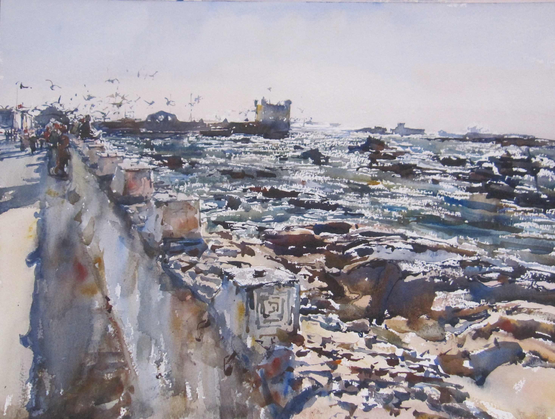 Essaouira Fortress by  Daud Akhriev - Masterpiece Online