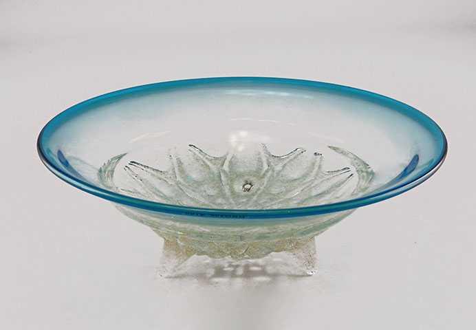 Bowl/Large Teal by  Neal Drobnis - Masterpiece Online