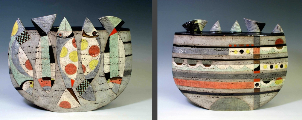 Five Fish Vessel  by  Sheryl Zacharia