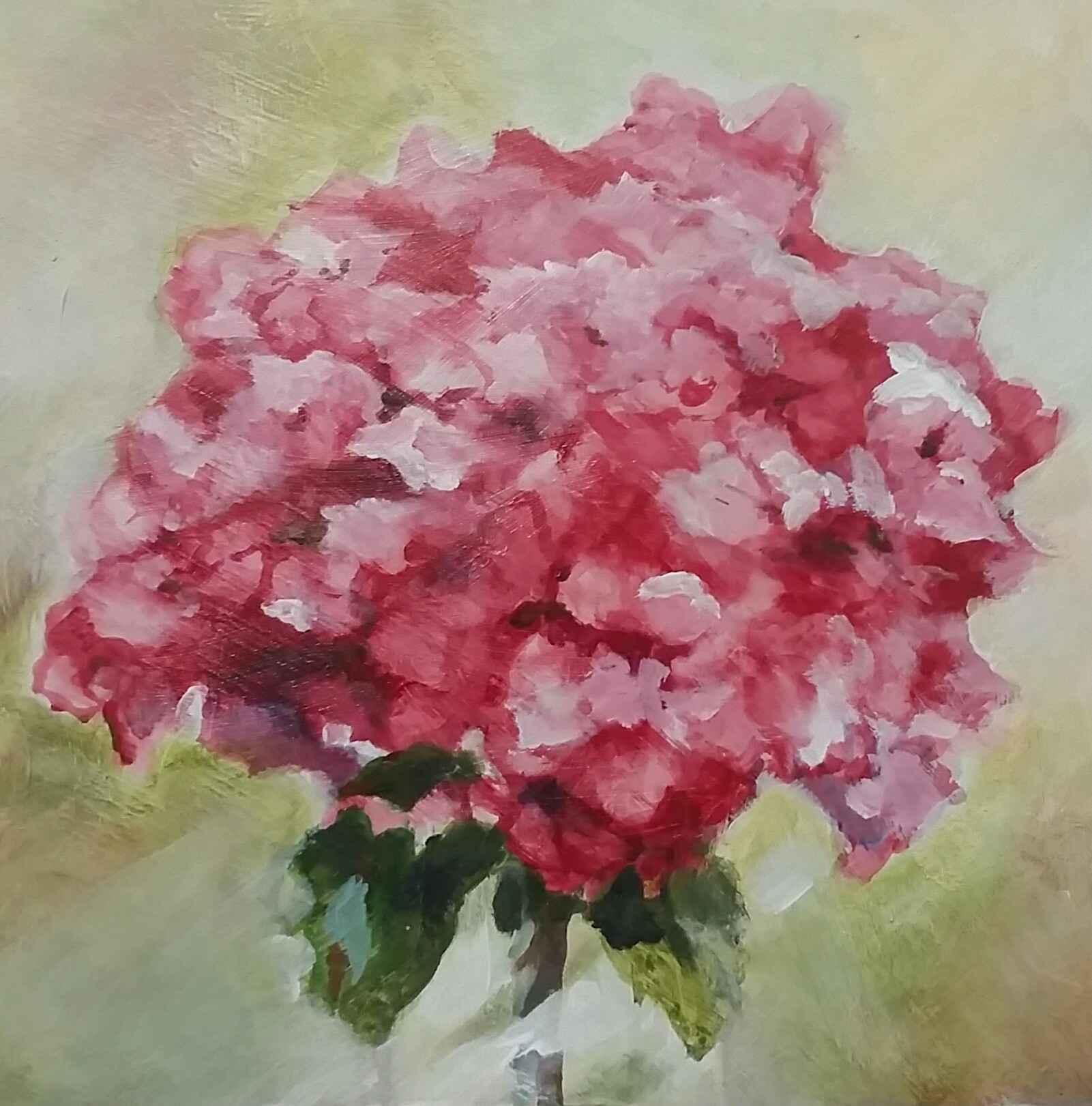 Good Morning Alizarin...  by  Patti Overholt