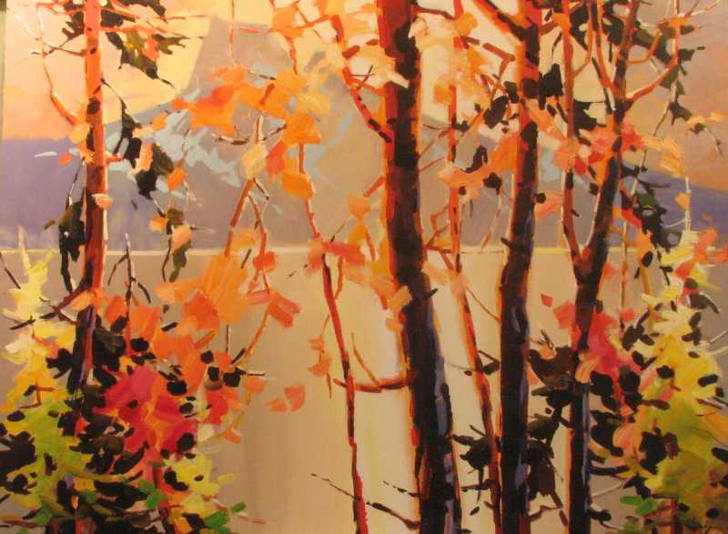 Autumn - Emerald Lake by  Bi Yuan Cheng - Masterpiece Online