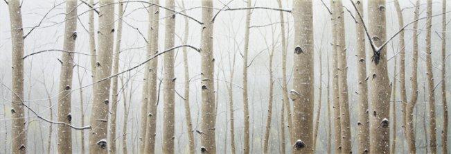 Aspen Snowfall by  Alexander Volkov - Masterpiece Online
