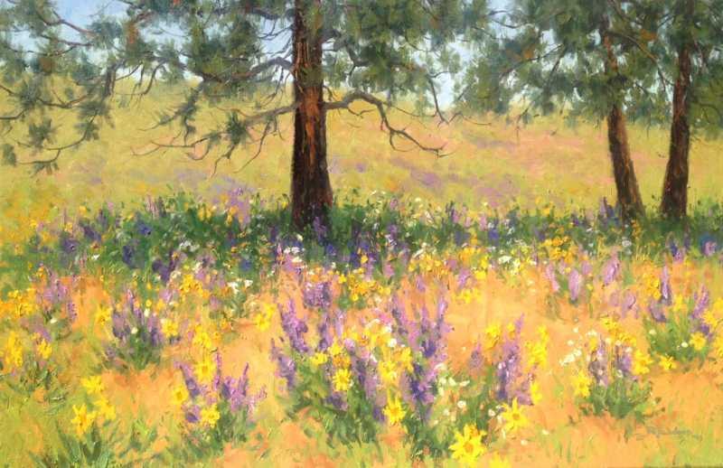 Ponderosa Shadows by  Robert E. Wood - Masterpiece Online