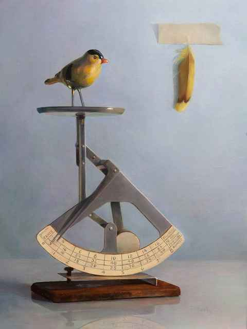 Feather Weight by  Terry Rafferty - Masterpiece Online