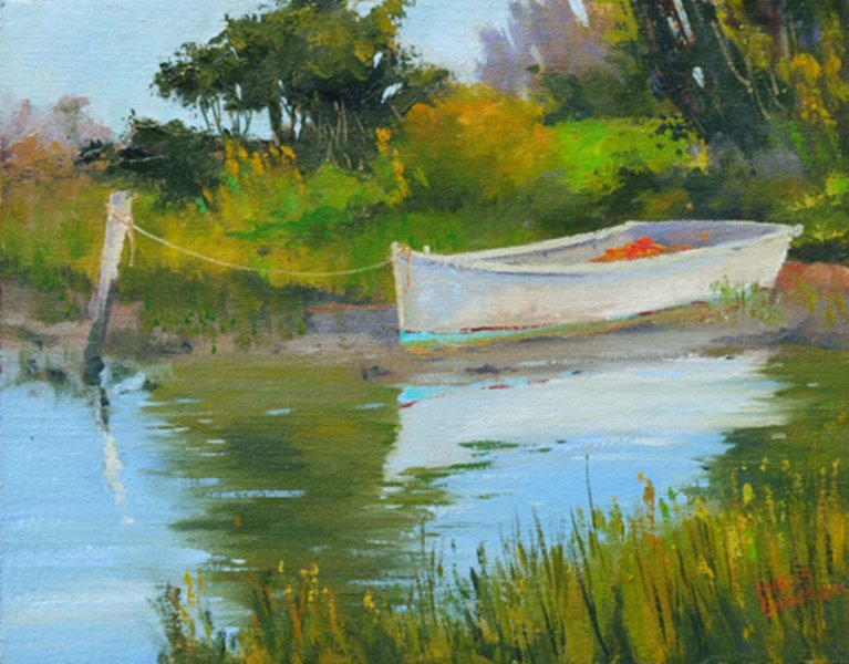 Down East Dory by  Charles Sharpe - Masterpiece Online