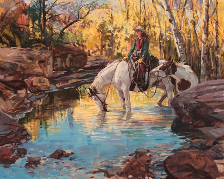 A NEW WORK- Glory by  Barbara Summers Edwards - Masterpiece Online