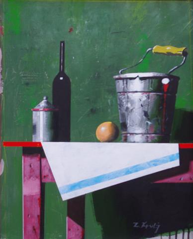 Wine, Orange and Buck... by  Zoran Krulj - Masterpiece Online
