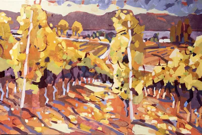 Okanagan Vines by  Rick Bond - Masterpiece Online