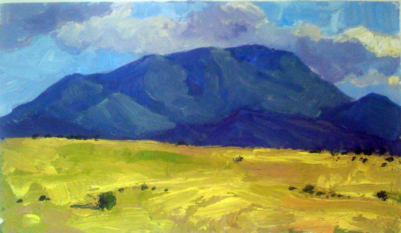 Arizona New Mexico Bo... by  Melissa Hefferlin - Masterpiece Online