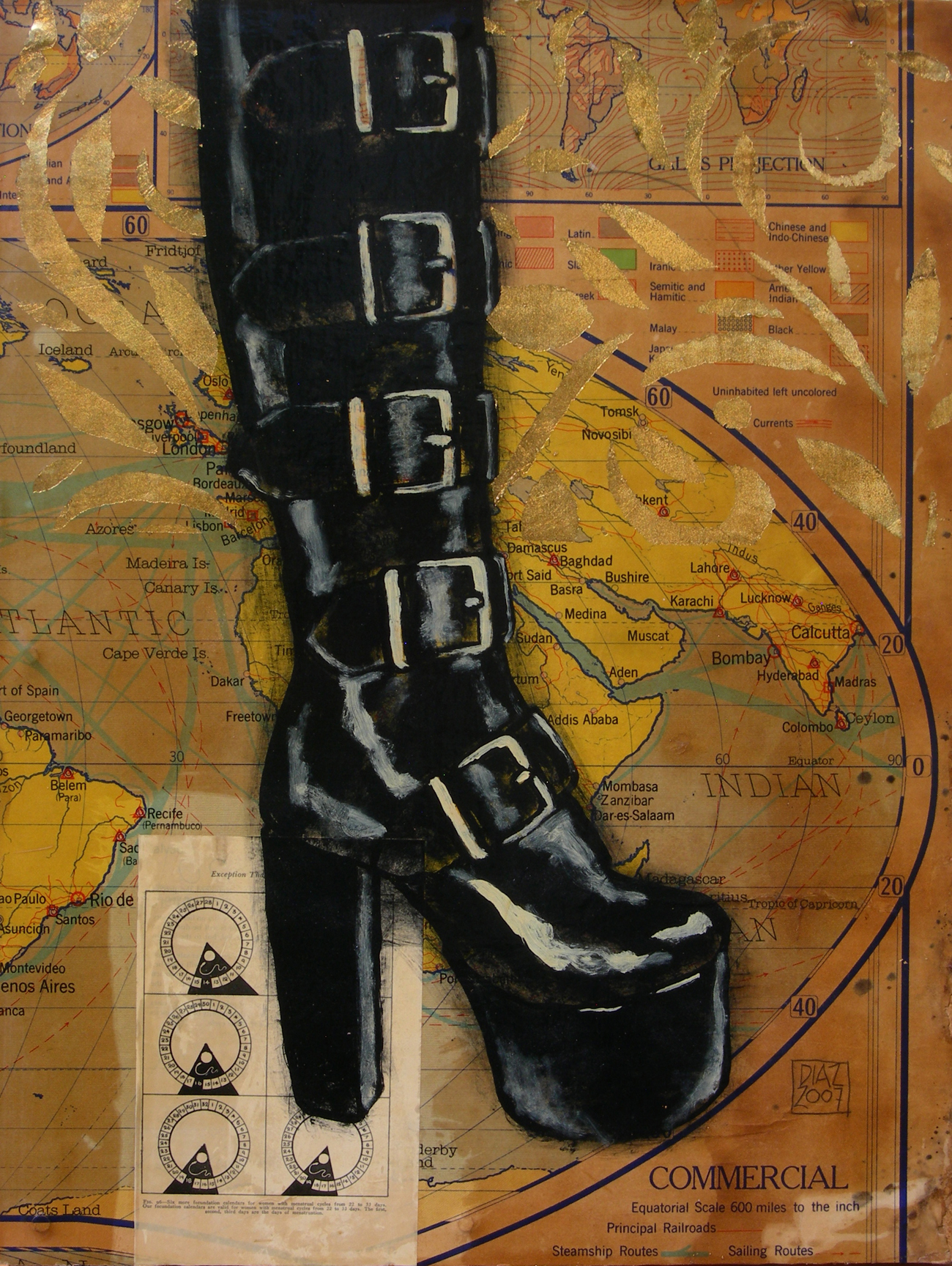 MENSTRAL by  David Diaz - Masterpiece Online