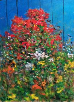 Flower Garden by  Andres  Morillo - Masterpiece Online