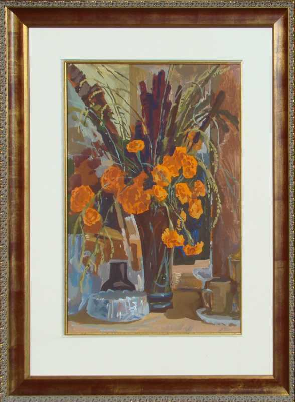 Carnations by  Anatoli Titow - Masterpiece Online