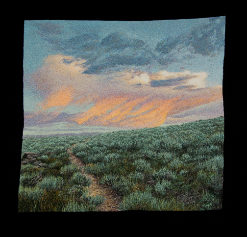 Wyoming Sunrise 2  by  Carol Shinn
