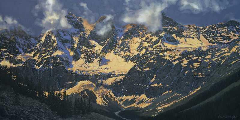 The Goodsirs, Yoho Na... by  Hubert Nanzer - Masterpiece Online
