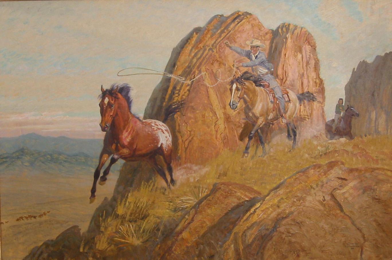 Wild Horse Loop by  Robert Lougheed - Masterpiece Online