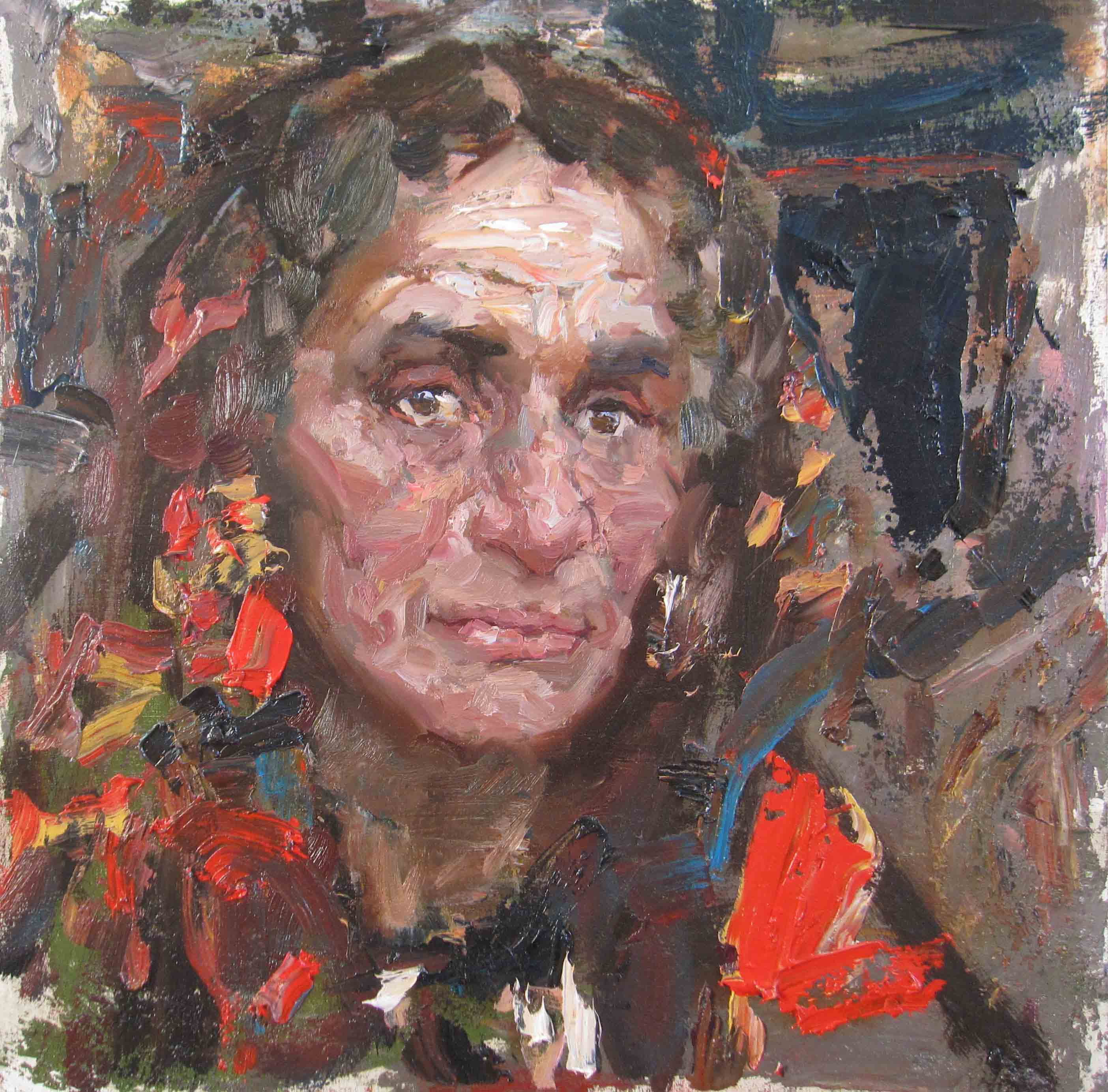Study for Fortunetell... by  Daud Akhriev - Masterpiece Online