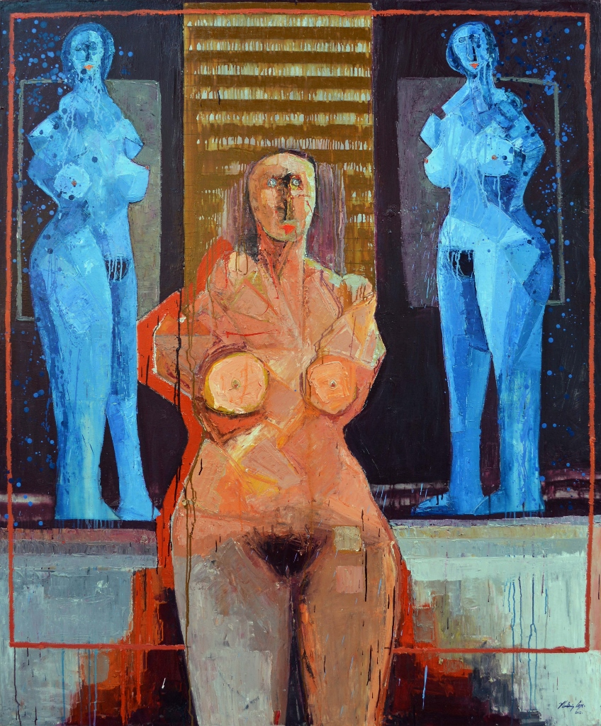 LAS TRES GRACIAS by Mr. VLADIMIR CORA - Masterpiece Online