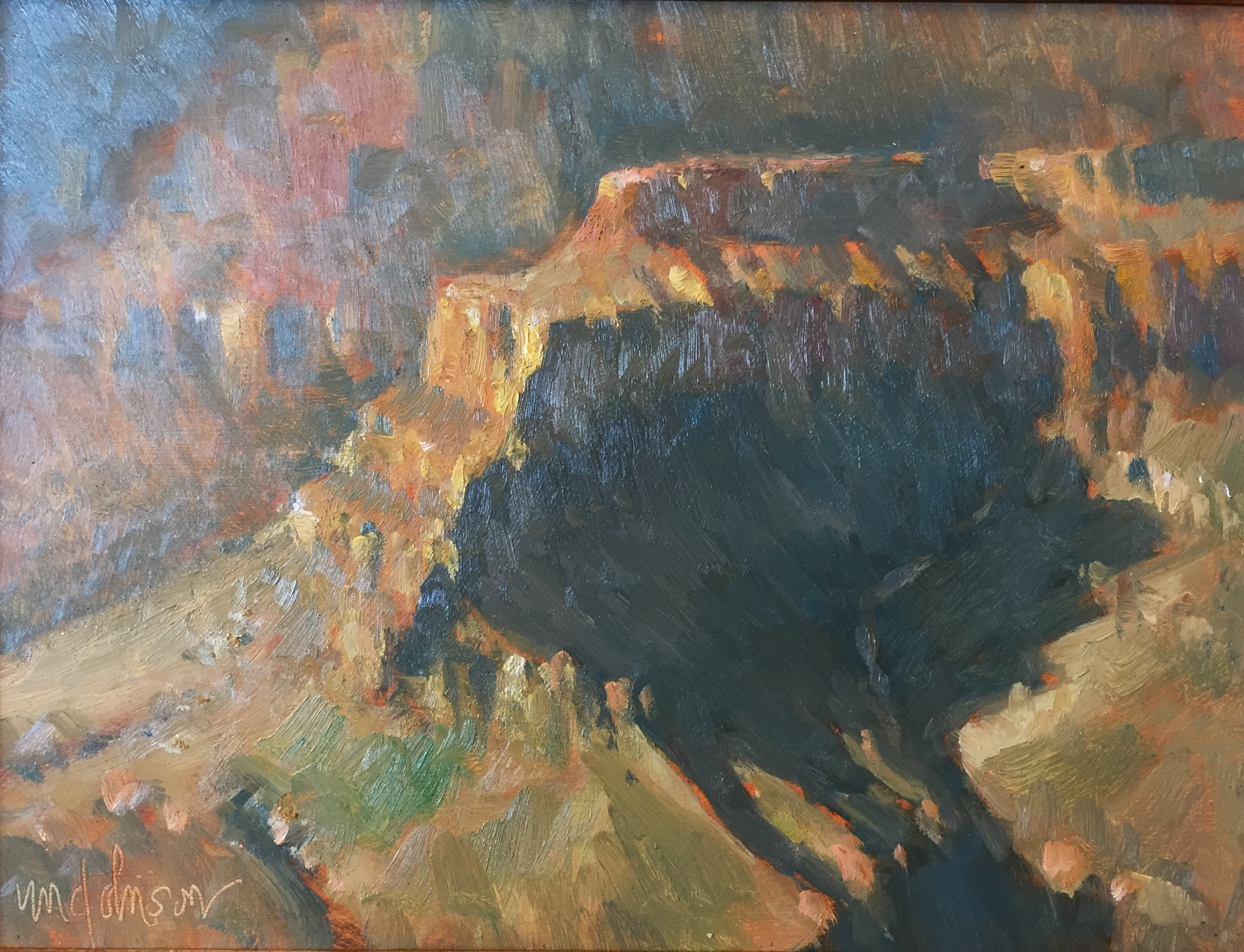 Evening in the Canyon by  Michael Chesley Johnson - Masterpiece Online