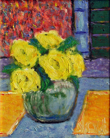 Roses From the Garden by  Matthew Morillo - Masterpiece Online