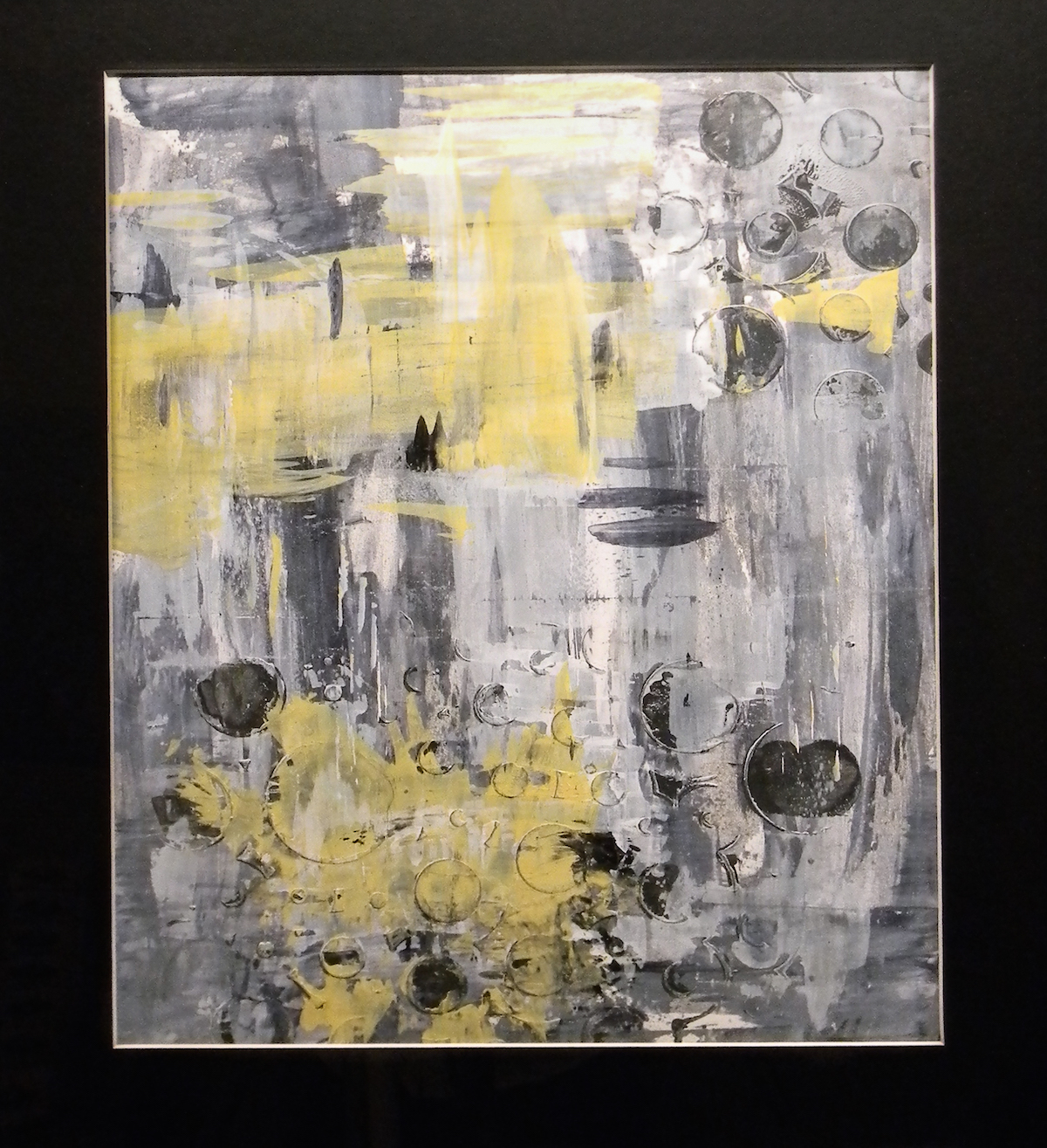 Study with Yellow #1 by  Mary Fisher - Masterpiece Online
