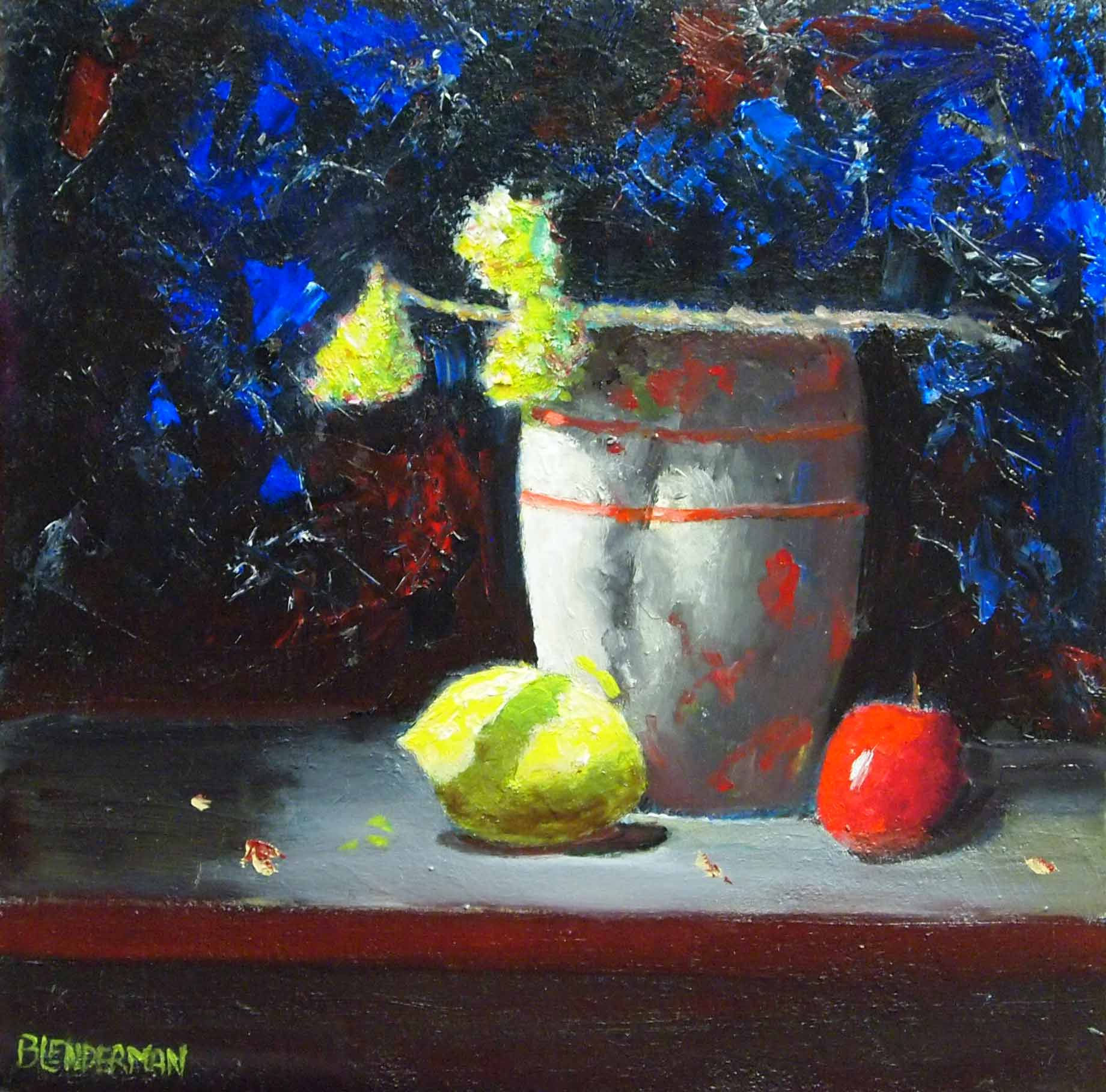 Still Life in Red and...