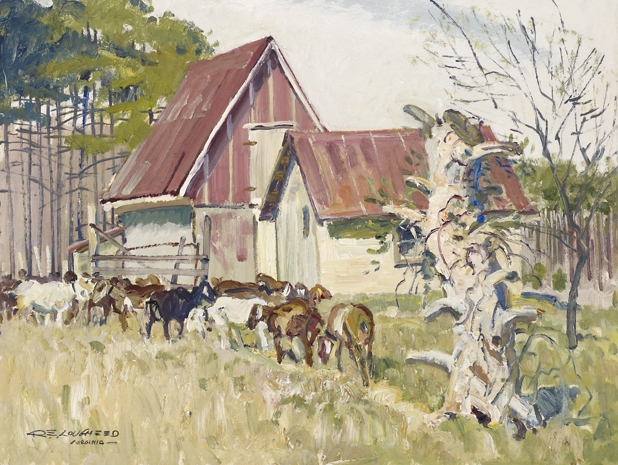 Virginia Shed and Goa... by  Robert Lougheed - Masterpiece Online