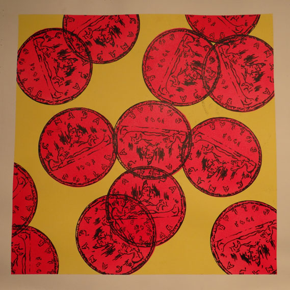 1963 - red & yellow  by  Cameron Schaefer