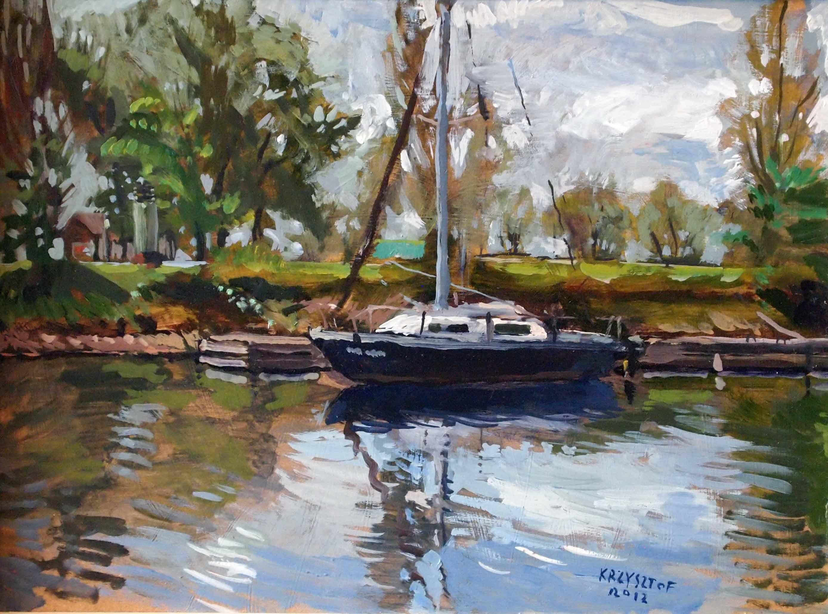 Sailboat  by  Krzysztof Doniewski