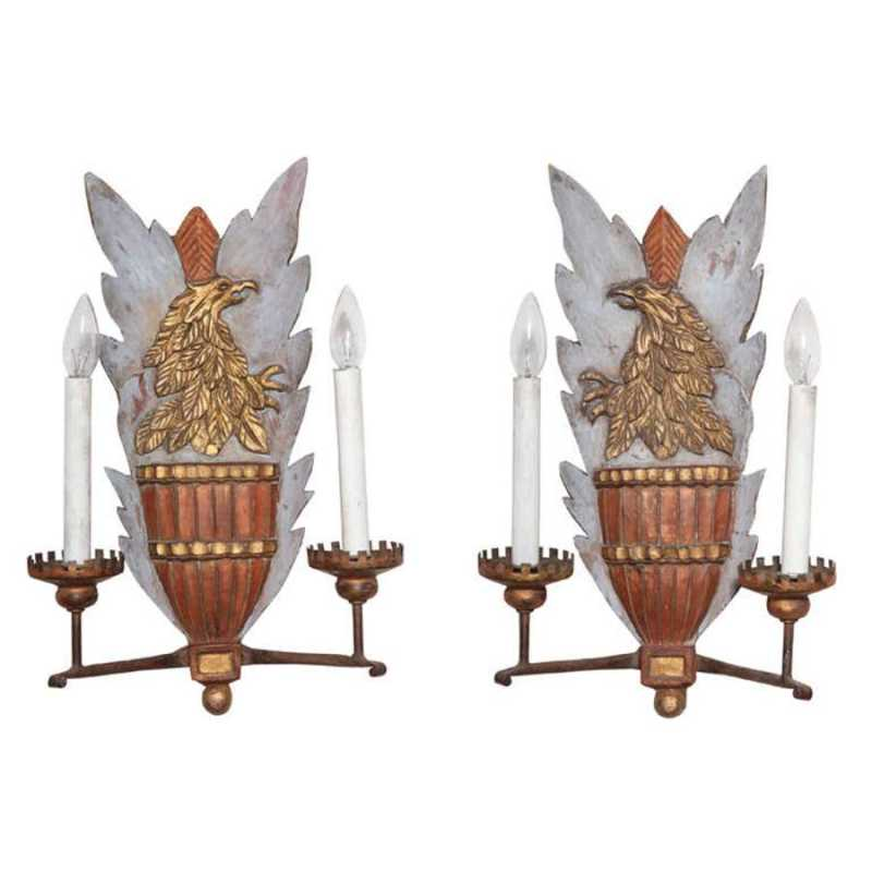 Pair of Polychromed H... by  Italian  - Masterpiece Online