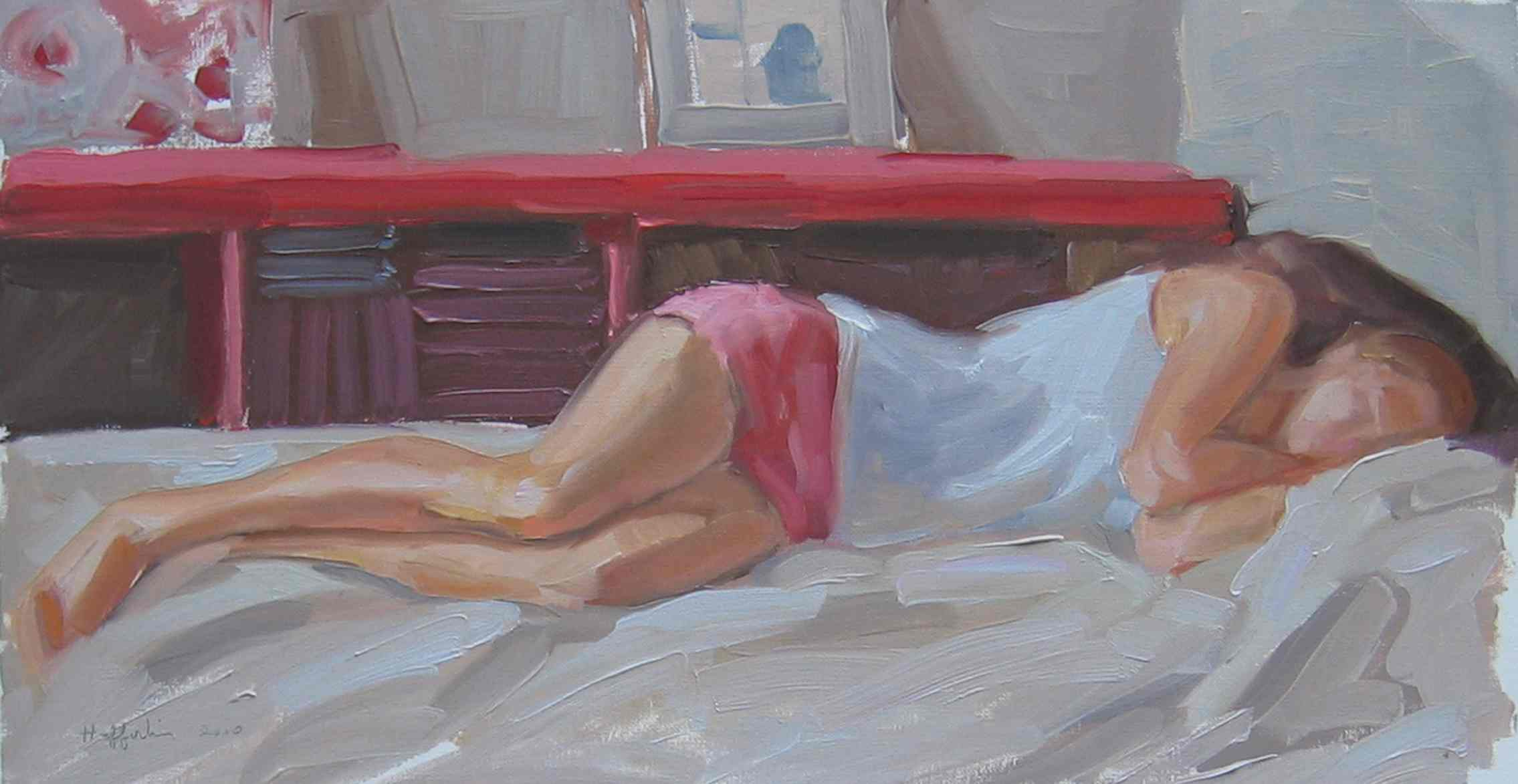 Katie Napping by  Melissa Hefferlin - Masterpiece Online