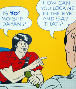 Moishe Dayan & Lil Ab... by  Al Capp - Masterpiece Online