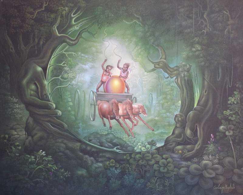 Treasure Hunt  by  Carlo JEAN BAPTISTE