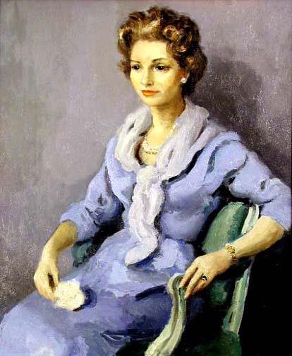 Portrait de la Femme ... by  Marcel  Dyf  - Masterpiece Online