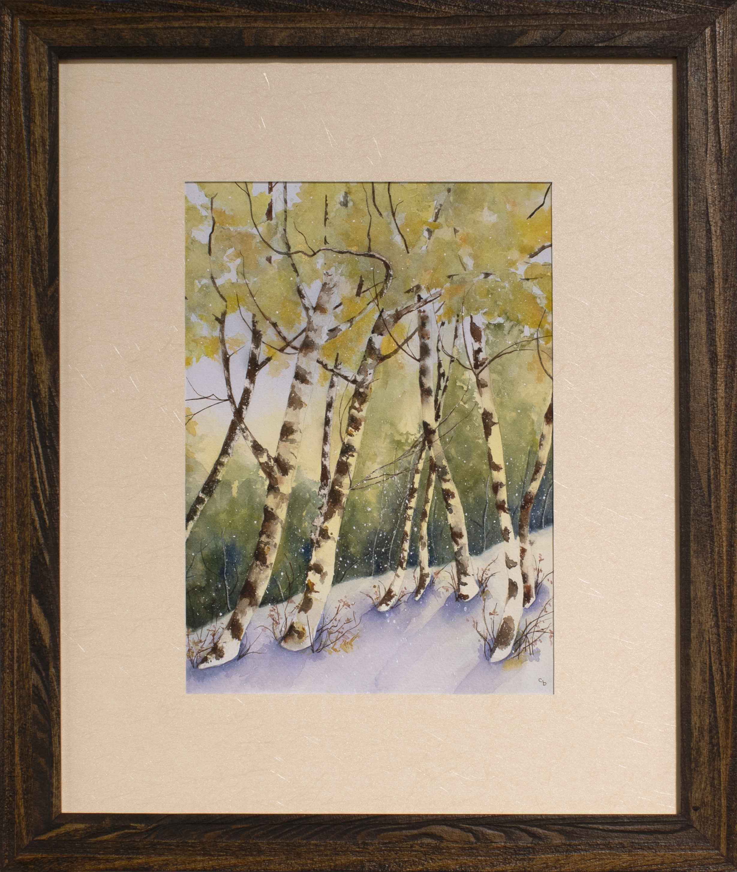 Spring Snow by Courtney Brown