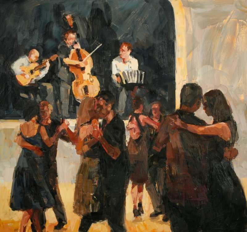 Noctorno de Tango by  Willow Bader - Masterpiece Online