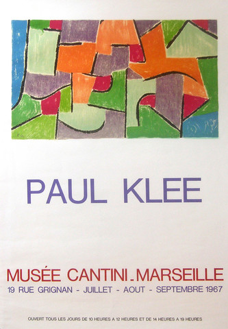 Musee Cantini - Marse... by  Paul Klee - Masterpiece Online