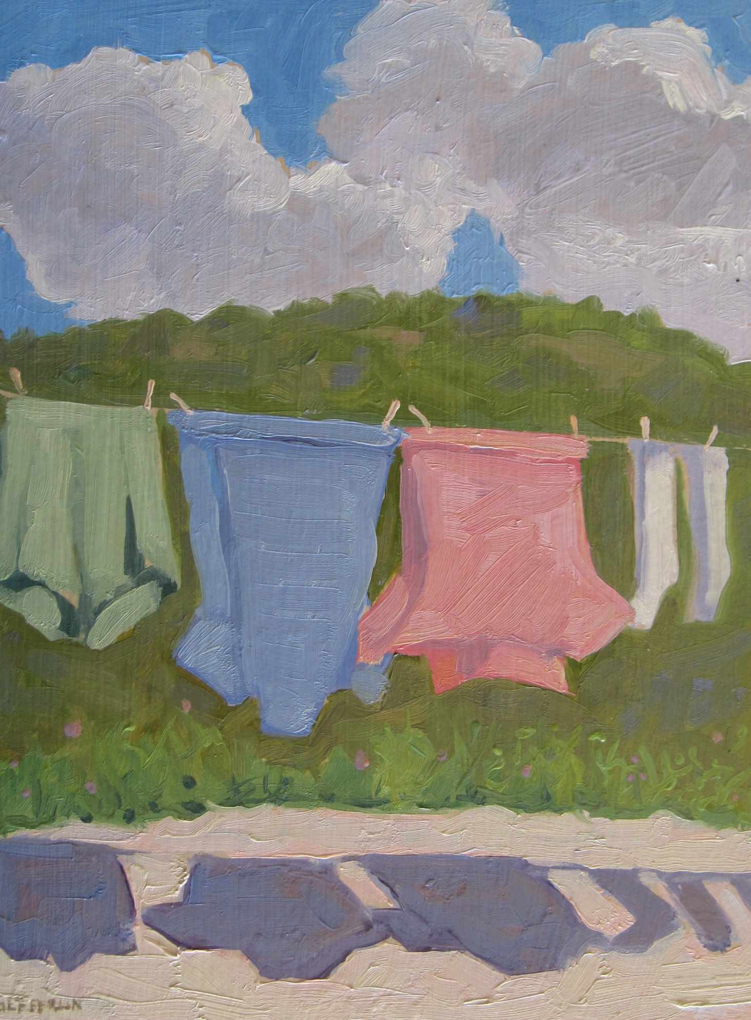 Out to Dry by  Melissa Hefferlin - Masterpiece Online