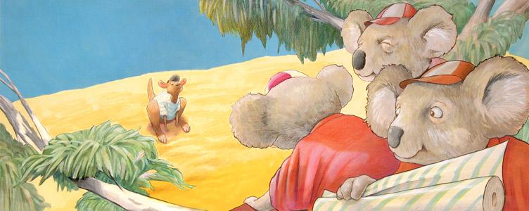 Kangaroo & Koala Bears