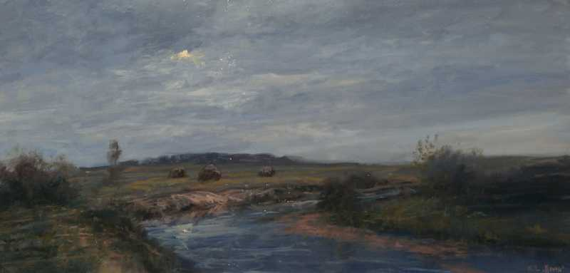 Moon River by  Raymond L. Knaub - Masterpiece Online