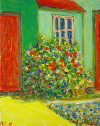 Pink Window by  Andres  Morillo - Masterpiece Online