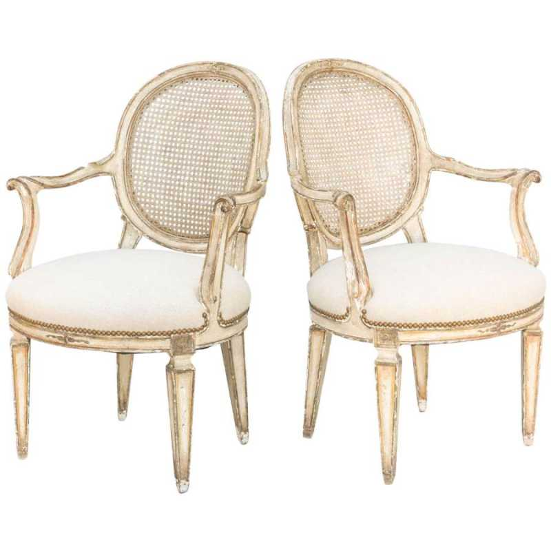 Pair of Armchairs by  Italian  - Masterpiece Online