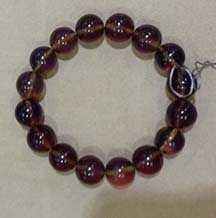 Blue Amber Bracelet  by   Starborn